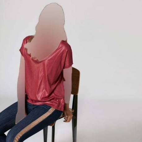 تیشرت یقه هفت زنانه
