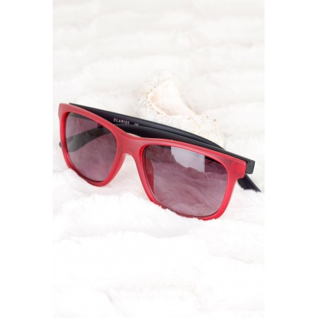 عینک آفتابی دور قرمز مردانه