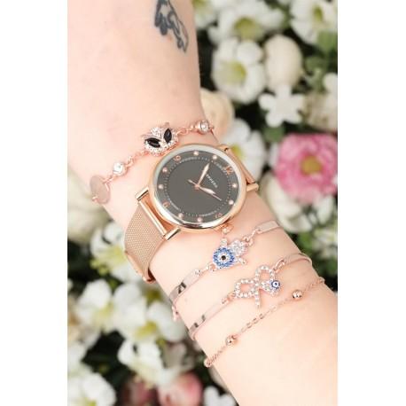 ست ساعت دستبند اسپرت زنانه