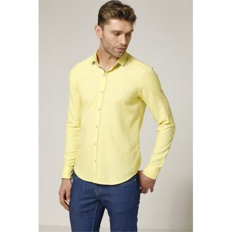 پیراهن دکمه سردست دار مردانه