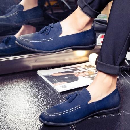 کفش سرمه ای مردانه
