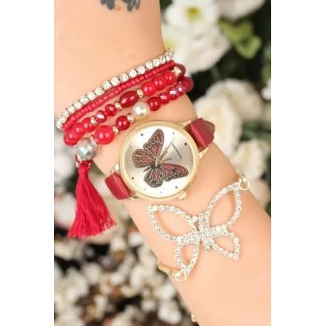 ست ساعت و دستبند جدید زنانه