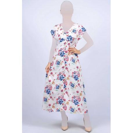 پیراهن یقه باز زنانه