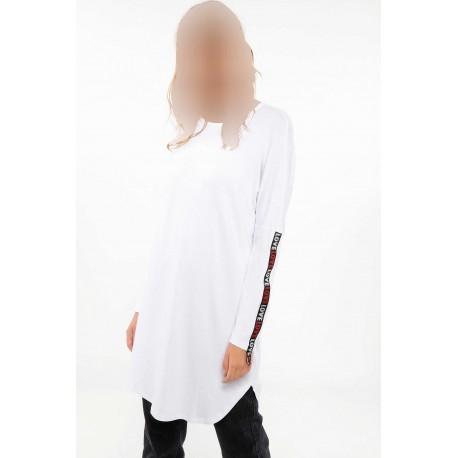 تونیک سفید زنانه