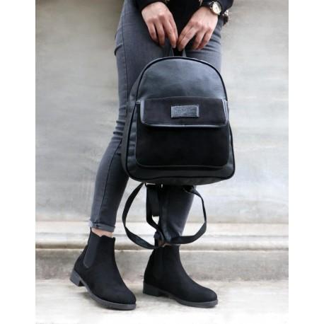 ست کیف وکفش مشکی زنانه