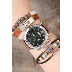 ست ساعت و دستبند اسپرت