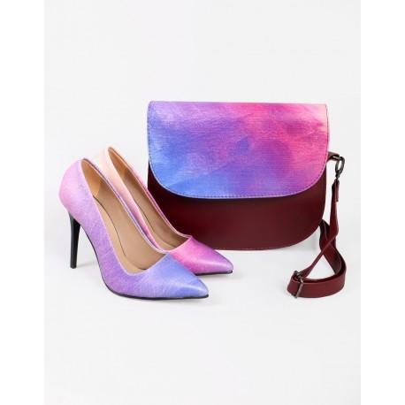 ست کیف و کفش شیک زنانه