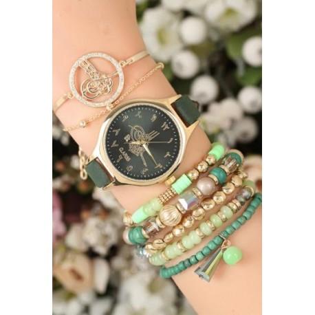 ست ساعت دستبند جدید زنانه