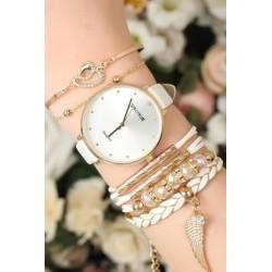 ست دستبند و ساعت زنانه