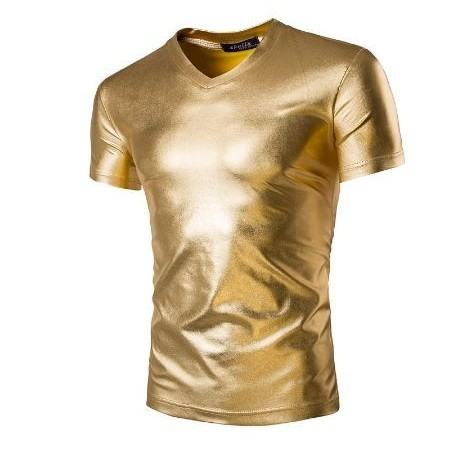 تیشرت طلایی