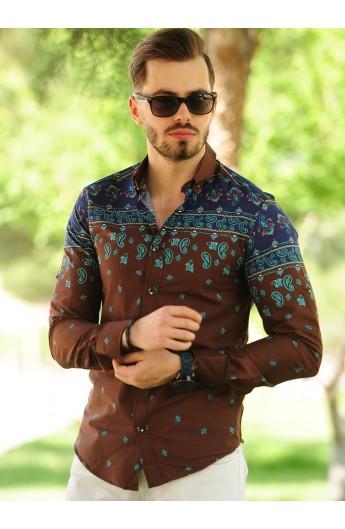 پیراهن طرحداراسپرت مردانه