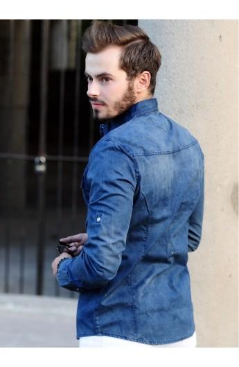 پیراهن جین اسپرت مردانه