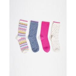4 جفت جوراب زنانه