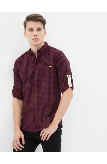 پیراهن چهارخونه اسپرت مردانه