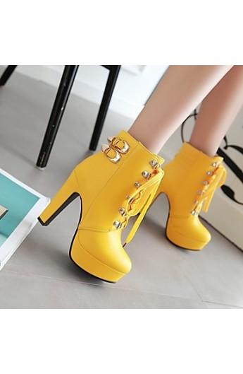 کفش پاشنه داروساق دار زنانه