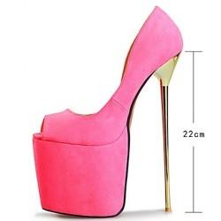 کفش پاشنه دار سایز بزرگ زنانه