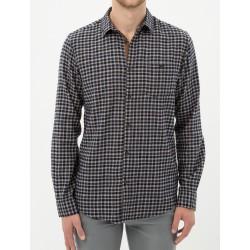 پیراهن چهار خونه مدلدار مردانه
