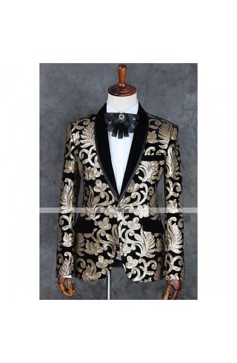 کت طلا کوب مردانه