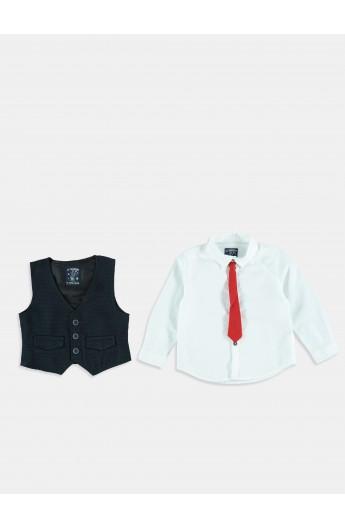 پیراهن و ژیله پسرانه