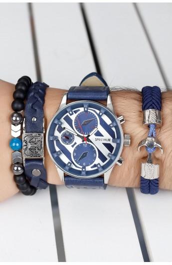 ست ساعت و دستبند مردانه