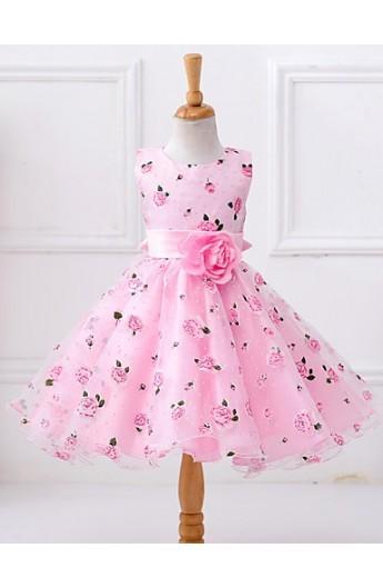 پپیراهن گلدار دخترانه