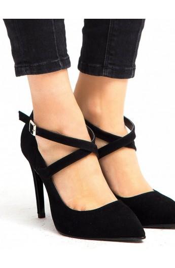 کفش پاشنه دار سگک دار زنانه