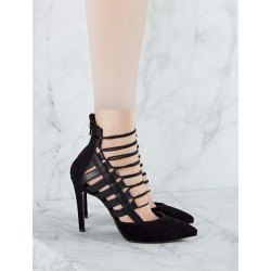 کفش پاشنه دار بندی زنانه