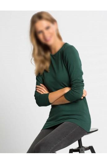 تیشرت آستین بلند ساده زنانه