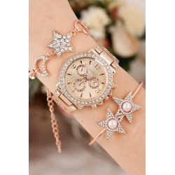 ست ساعت و دستبند زنانه