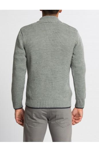 ژاکت کش باف پشمی مردانه