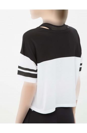 تی شرت طرح دار زنانه