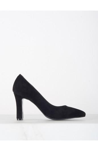کفش پاشنه دار جیر زنانه
