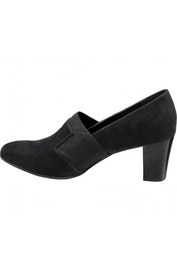 کفش مدلدار و پاشنه دار زنانه
