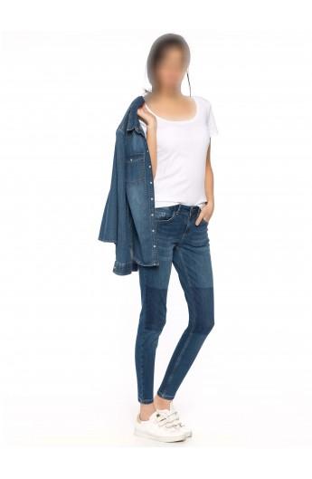 شلوار جین طرح دار زنانه
