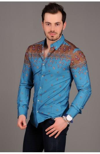 پیراهن طرح ترمه مردانه
