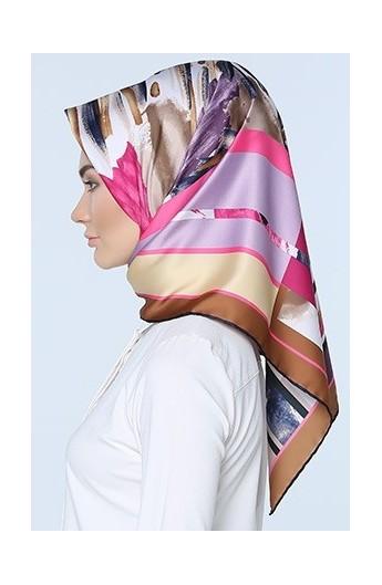 ست کیف و روسری طرح دار زنانه