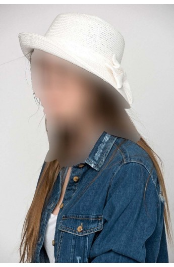 کلاه پاپیون دار زنانه