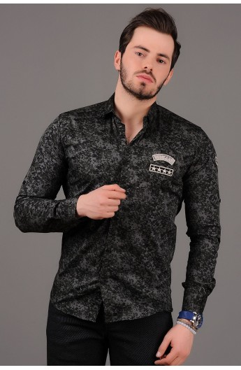 خرید لباس خرید اینترنتی لباس پیراهن چریکی مردانه فروش لباس