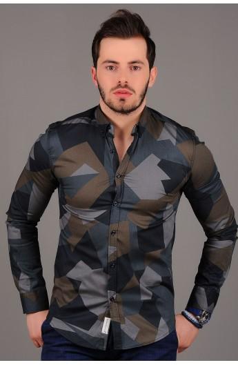 پیراهن طرح دار مردانه
