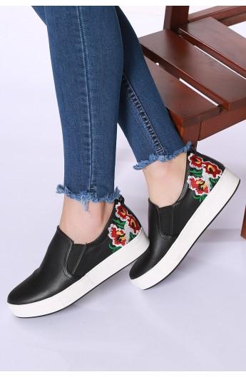 خرید اینترنتی لباس - کیف و کفش زنانه (9) - فروشگاه اینترنتی لباس ...کفش تخت زنانه