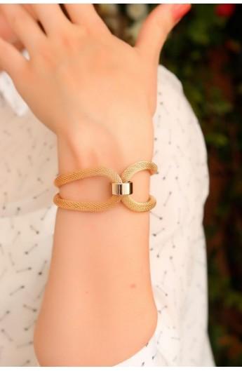 دستبند طلایی زنانه