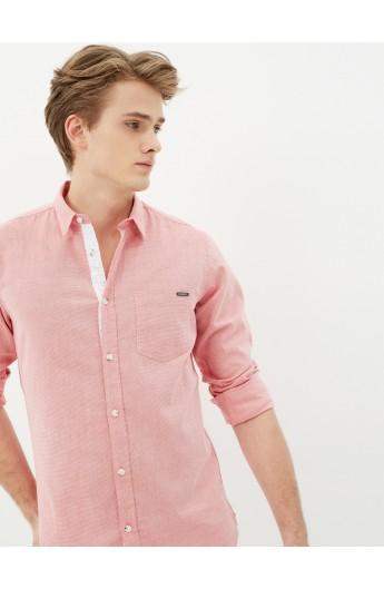 پیراهن جلو دکمه دار مردانه