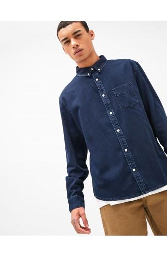 پیراهن جین مردانه جلو دکمه دار