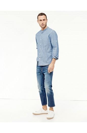 پیراهن یقه سه سانت مردانه