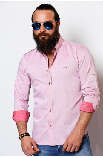 پیراهن صورتی مردانه