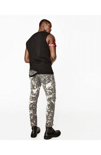 شلوار جین طرحدار مردانه