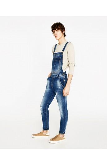 شلوار جین پیشبندی مردانه