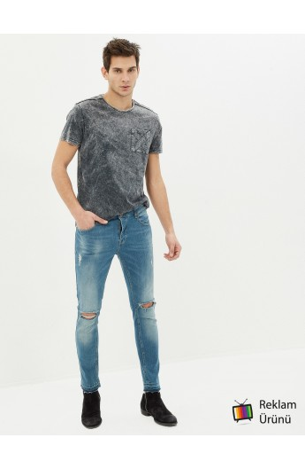 شلوار جین مدلدار مردانه