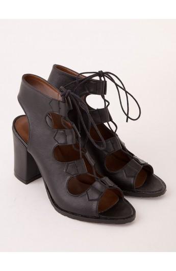 کفش پاشنه بلند بندی زنانه