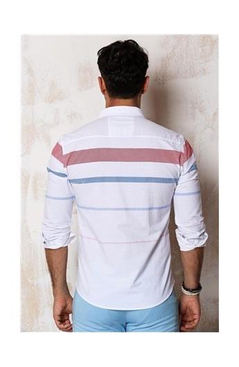 پیراهن راه راهه مردانه